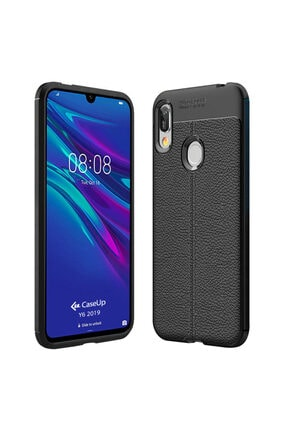 CaseUp Huawei Y6 2019 Kılıf, Niss Silikon Siyah 0