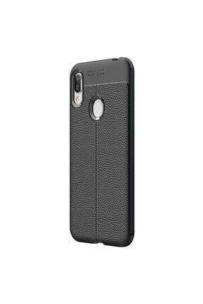CaseUp Huawei Y6 2019 Kılıf, Niss Silikon Siyah 1