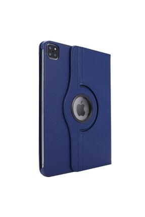 CaseUp Apple Ipad Pro 12.9'' 2020 4.nesil Kılıf, 360 Rotating Stand Lacivert 1