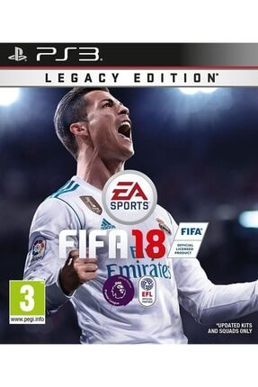 EA Sports Ps3 Fifa 18 - Orjinal Oyun - Sıfır Jelatin 0