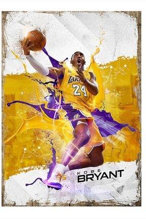 Tablomega Kobe Bryant Desenli Mdf Tablo 35cm X 50cm 0