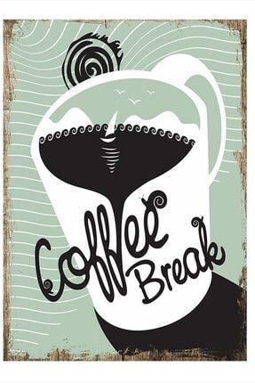 Tablomega Kahve Arası Art Mdf Tablo 50cm X 70cm 0