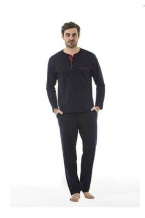 Pierre Cardin Damat Çeyiz Lacivert Pijama Çamaşır Set Takım 2000 1