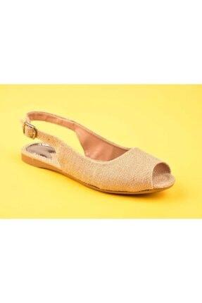 SWELLSOFT Kadın Bej Hasır Ayakkabı 050-20y 0