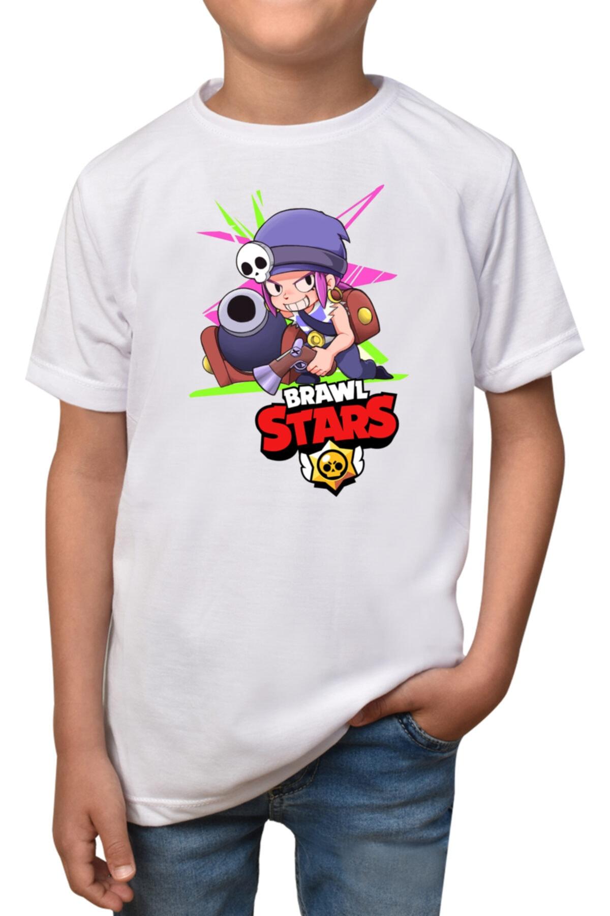 Çocuk Beyaz Yarım Kollu T-shirt
