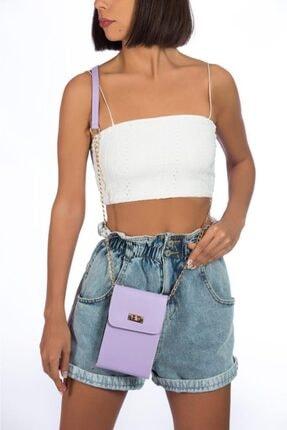 Espardile Kadın Askılı Mini Çanta 0