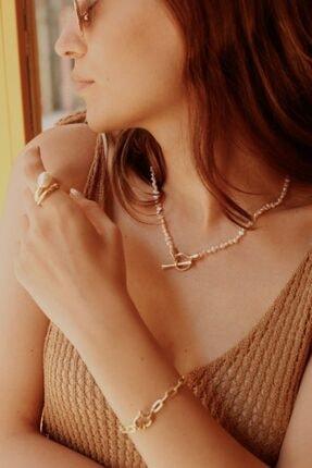 Linya Jewellery Kadın Terı Kum Inci Kolye 0