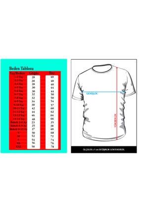 GiftStore Shrek- Beyaz Çocuk - Yetişkin Unisex T-shirt T-8 1