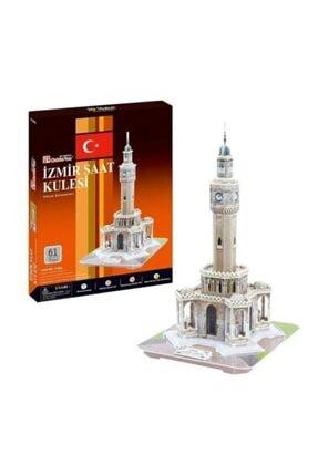 RANESA 61 Parça 3d İzmir Saat Kulesi 0