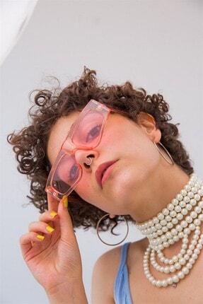 Bilge Karga Kadın Pembe Naples Güneş Gözlüğü 0