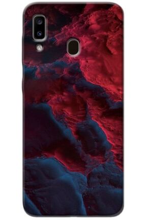 Noprin Samsung Galaxy A40 Kılıf Silikon Baskılı Desenli Arka Kapak 0