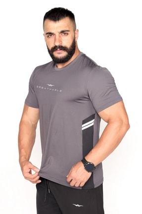 Bessa Sport Garnili Ter Tutmayan Kumaş Reklektif Baskı Spor T-shirt 0