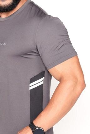 Bessa Sport Garnili Ter Tutmayan Kumaş Reklektif Baskı Spor T-shirt 3