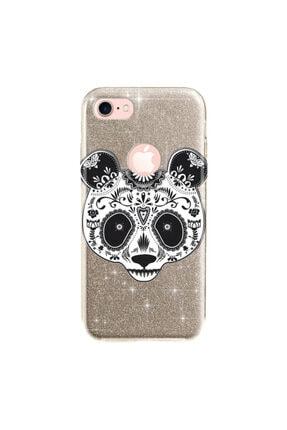 cupcase Iphone 8 Kılıf Simli Parlak Kapak Altın Gold Renk - Stok518 - Pandass 0