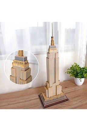 Cubic Fun 54 Parça 3d  Empire State Building Puzzle 3