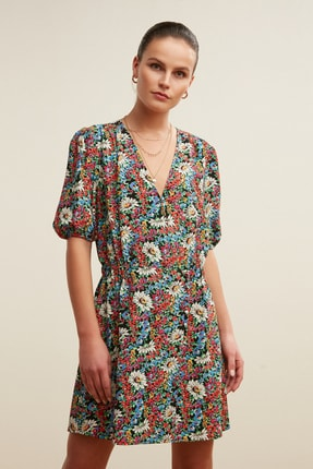 Mudo Kadın Multi Renk Elbise 379652 2