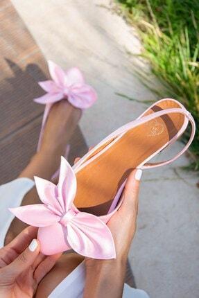Fox Shoes Pudra Kadın Babet H726809004 0