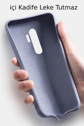 Prasmet Xiaomi Redmi Note 8 Cappy Silikon - Microfiber Kaplama Pastel Renkler 2