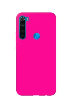 Prasmet Xiaomi Redmi Note 8 Cappy Silikon - Microfiber Kaplama Pastel Renkler 0