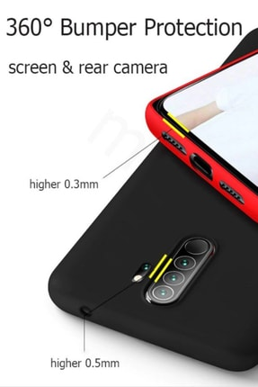 Prasmet Xiaomi Redmi Note 8 Cappy Silikon - Microfiber Kaplama Pastel Renkler 1