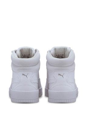 Puma Carina Mid-37323301-beyaz-kadın Spor Ayakkabı- 1