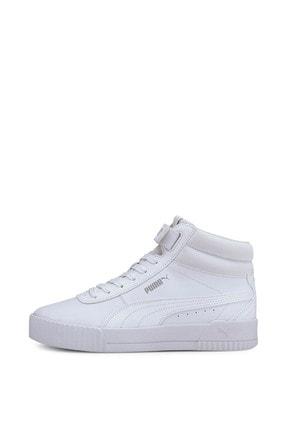 Puma Carina Mid-37323301-beyaz-kadın Spor Ayakkabı- 2