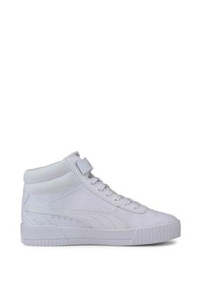 Puma Carina Mid-37323301-beyaz-kadın Spor Ayakkabı- 4