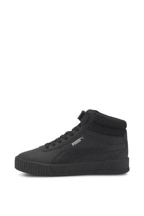 Puma Carina Mid-37323302-siyah-kadın Spor Ayakkabı- 3