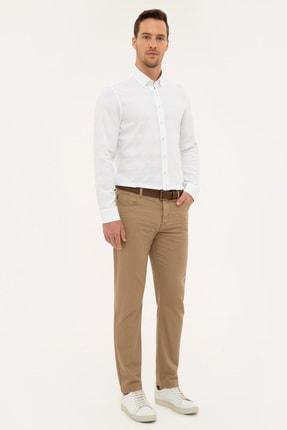 Pierre Cardin Camel Slim Fit Chino Pantolon 1