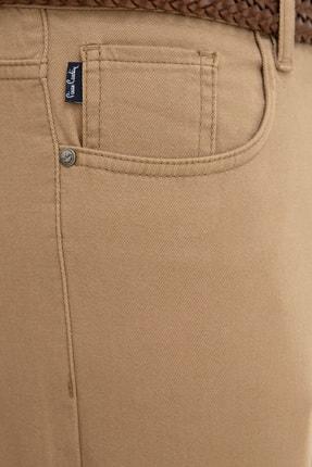 Pierre Cardin Camel Slim Fit Chino Pantolon 3