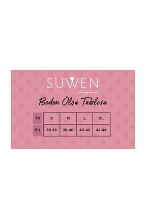 Suwen 3'Lü Paket Kadın Çorabı  Navy İndıgo Gri 1