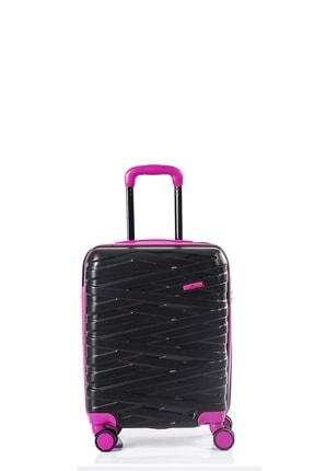 North Case Unisex Siyah Pembe Kabin Boy Valiz Nc-092 1