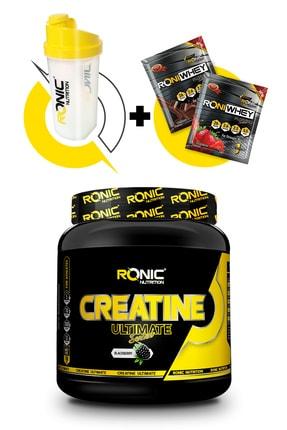 Ronic Nutrition Creatine Ultimate 700 Gr (böğürtlen Aromalı) + Shaker Ve 2 Adet Tek Kullanımlık Whey Protein Hediye 0