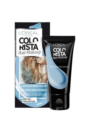 L'Oreal Paris Paris Colorista Hair Makeup Metallicblue 0