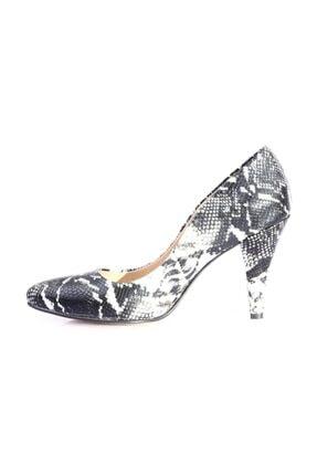 Dgn Kadın Gri Sivri Burun 11 Pont Topuklu Ayakkabı 20y 199 2