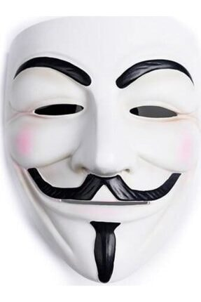 webcenter V For Vandetta Wanted Maske Kostüm Partisi Şaka Malzemesi 0
