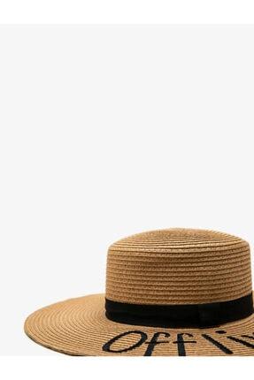 Koton Kadın Bej Hasır Şapka 1