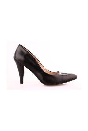 Dgn 199 Kadın Siyah Sivri Burun 11 Pont Topuklu Ayakkabı 20y 0
