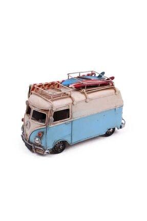 Hediye Mevsimi Dekoratif Metal Minibüs Çerçeveli Kalemlik Ve Tenteli 0