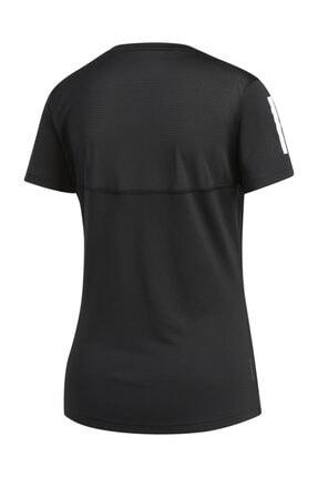 adidas Kadın Siyah Own The Run Tişört 2