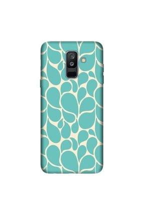 cupcase Samsung Galaxy A6 Plus 2018 Kılıf Hd Silikon Damlalar Kapak + Nano Cam 0