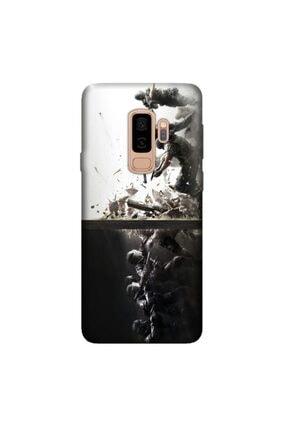 cupcase Samsung Galaxy J8 Kılıf Hd Silikon Koruma Tom Clancy Kapak + Nano Cam 0