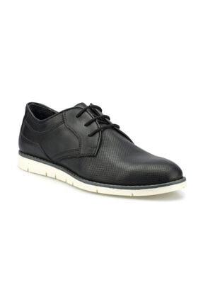 Polaris Erkek Siyah Klasik Ayakkabı 0