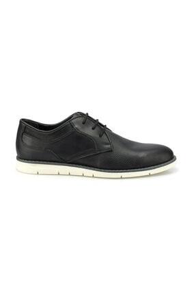 Polaris Erkek Siyah Klasik Ayakkabı 1