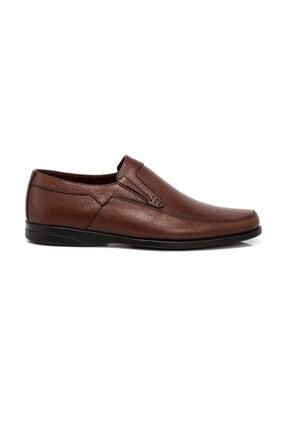Tergan Erkek  Kahverengi  Deri Ayakkabı 54455H57 2