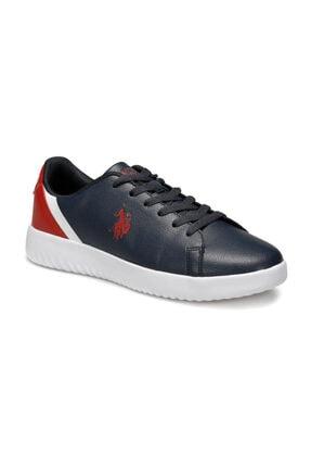 US Polo Assn Pross Lacivert Erkek Sneaker Ayakkabı 0