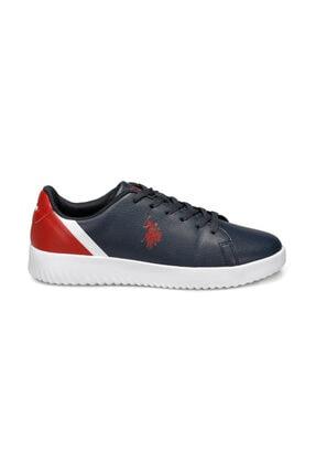 US Polo Assn Pross Lacivert Erkek Sneaker Ayakkabı 2