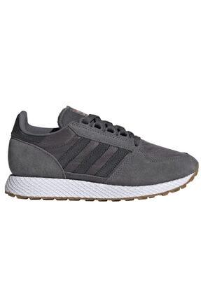 adidas Kadın Gri Forest Grove Günlük Spor Ayakkabı Ee5846 0