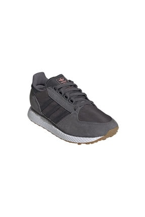 adidas Kadın Gri Forest Grove Günlük Spor Ayakkabı Ee5846 3