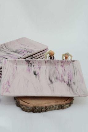 Porselenshop 6'lı Seramik Tabak Prspdtb11 0